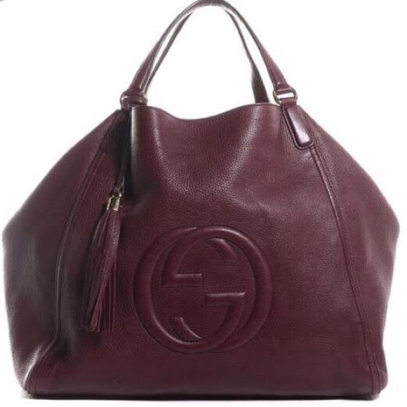 Gucci Handbags - Gucci Soho EXTRA LARGE Calfskin Collection purse